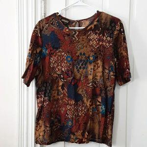 casablanca short sleeve top